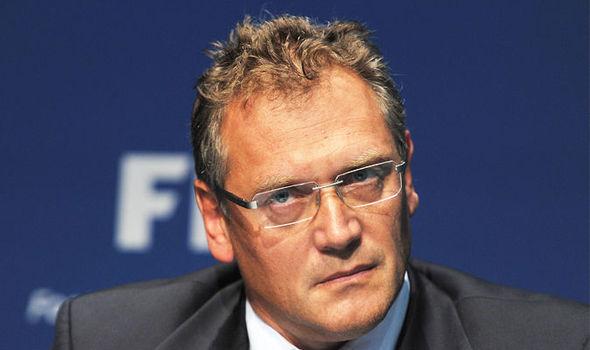 Suspended FIFA General secretary Jerome Valcke