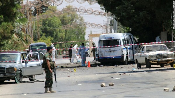 Lebanese suicide bombings