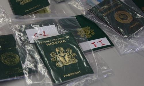 Nigerian passports