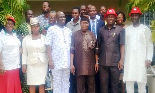Obasanjo-South West TUC members