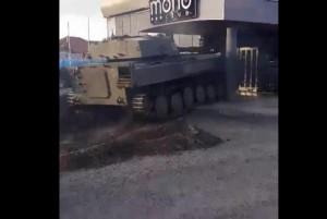 Tank-crashes-into-Polish-nightclub-during-Facebook-live-stream