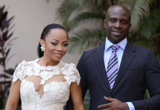 Toke Makinwa and Maje Ayida