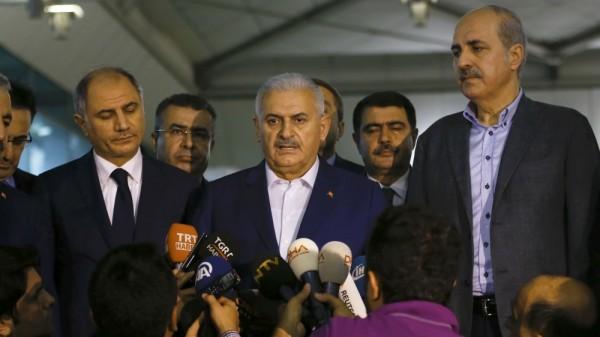 Turkey's Prime Minister, Binali Yildirim