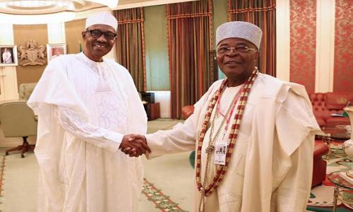 Buhari-Alake of Egbaland, Oba Michael Aremu Adedotun Gbadebo
