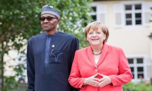 Buhari and Merkel