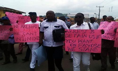 Ekiti-lawmakers-protest