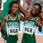 Nigeria's relay team