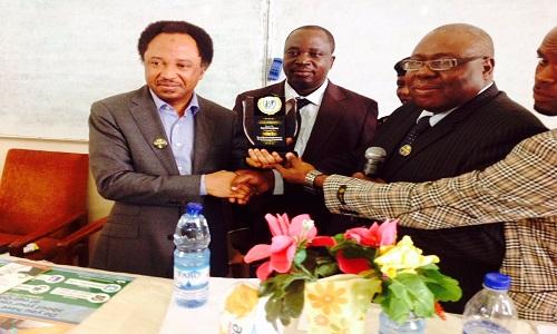 Shehu Sani-Award