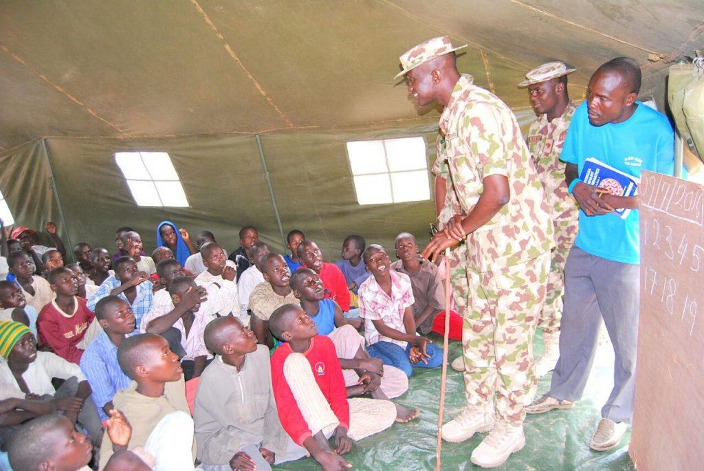 Army IDP school 1