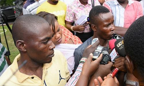 Suspected Kidnappers of Oba Goriola Oseni