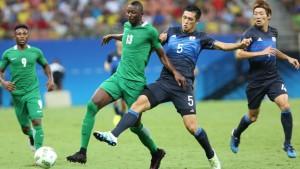 nigeria olympic vs japan
