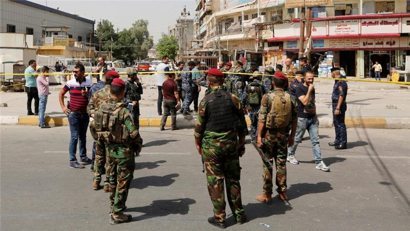 Multiple bomb blasts in Baghdad leave 15 people dead