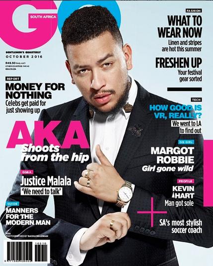 AKA covers South Africa GQ Magazine