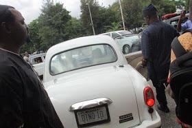 DIno Melaye's vintage Benz
