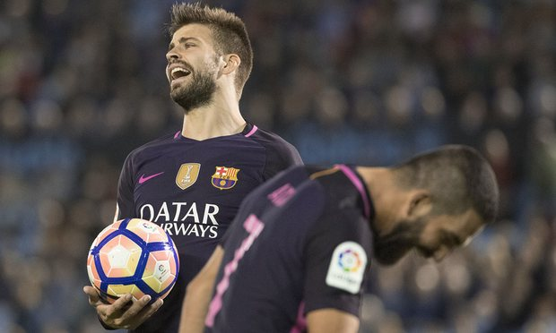 Barcelona lost to Celta Vigo
