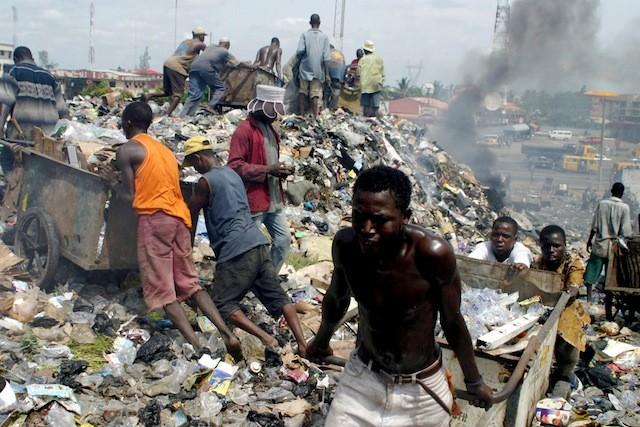 refuse-dump