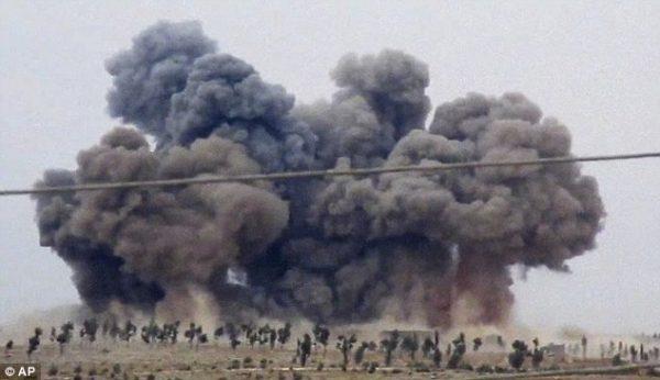 7 Children Die During Air Raid