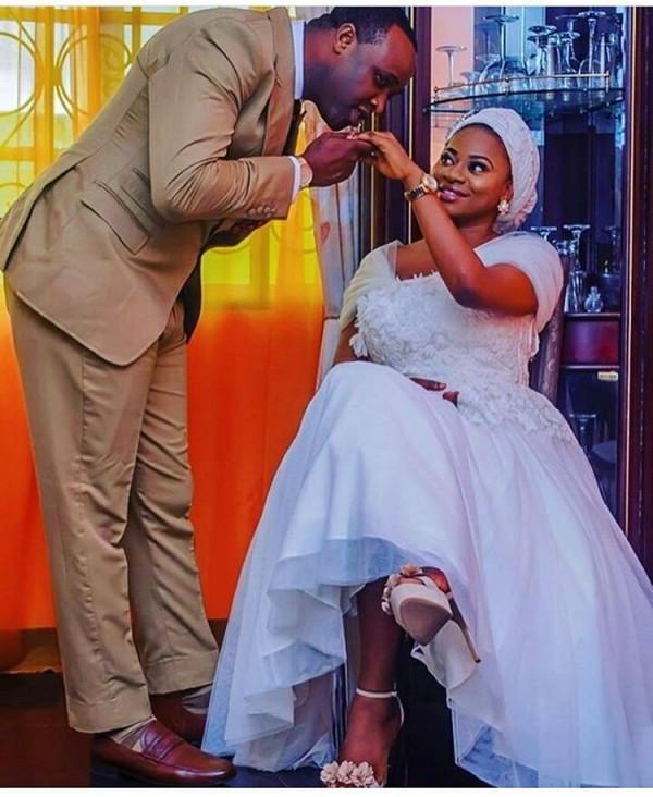 Femi Adebayo's wedding