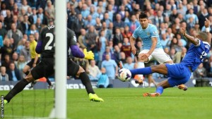 Manchester City striker, Sergio Aguero
