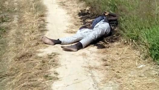 suicide bomber shot dead