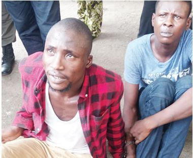 We are conductors by day, robbers by night – Suspects