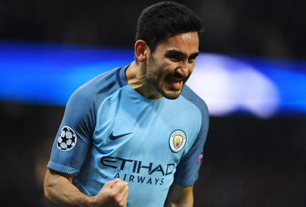 Manchester City two goal hero, Ilkay Gundogan