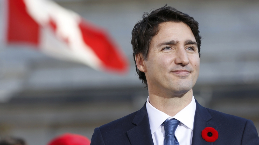Canadian Pm Justin Trudeau Welcomes People Fleeing From