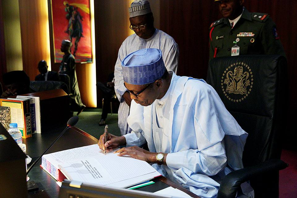 buhari sign bills