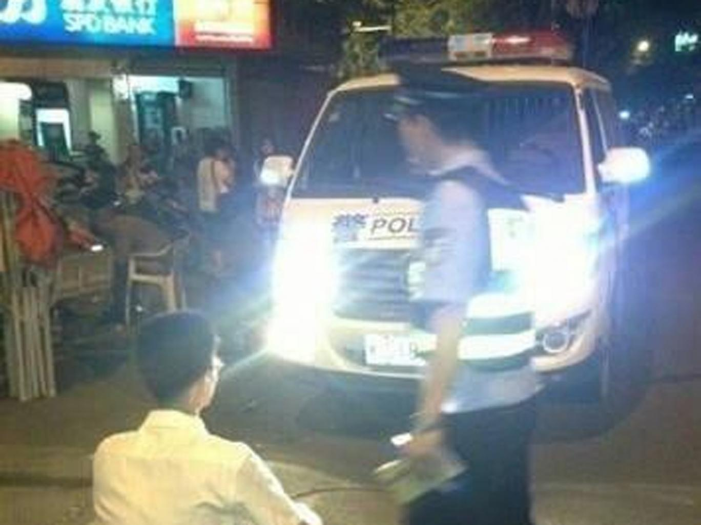 chinese police china headlights punishment