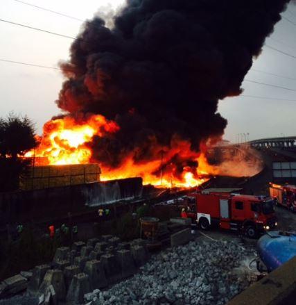 Nigerian Breweries fire