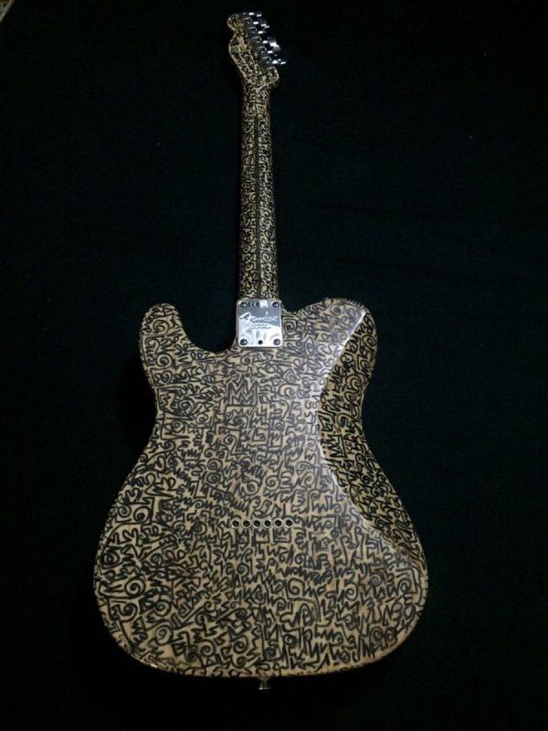 King Sunny Ade Fender Guitar