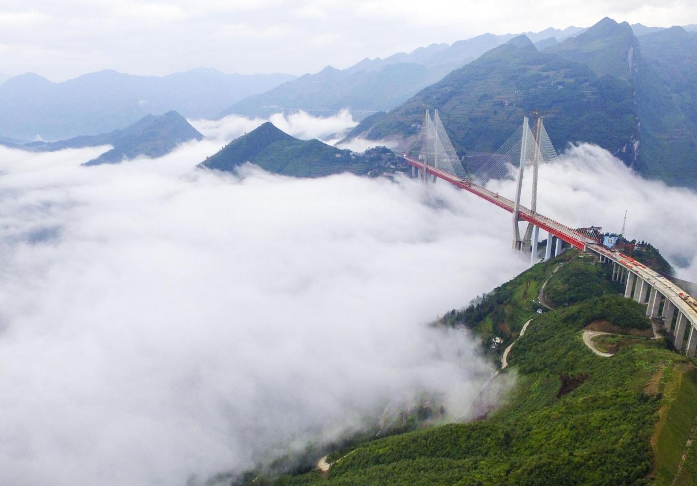 world's highest bridge china
