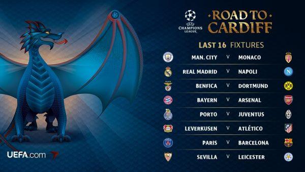 uefa last 16