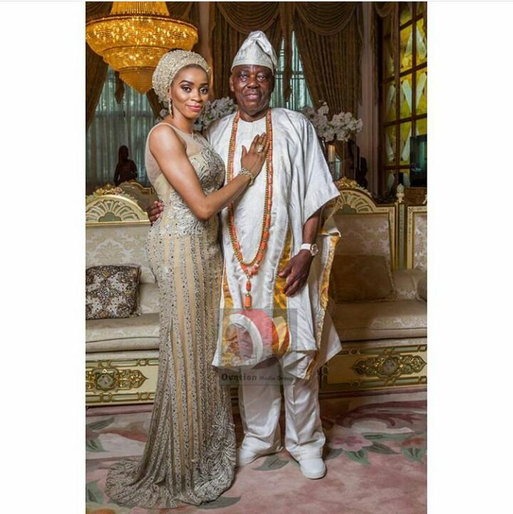 Razaq Okoya and wife, Shade