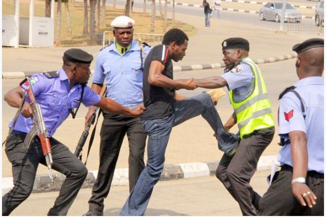 Shiites Police - Channels TV Reporter Hit By Bullet As Police and Shiite Clash In Abuja