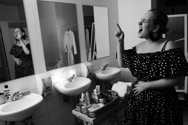 Adele Sparks Pregnancy Rumours In Recent Instagram Photo