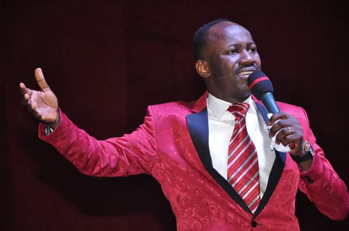 Apostle Suleman Shares What He Did To A Fraudster Who Brought Millions AsCash Gift For Him
