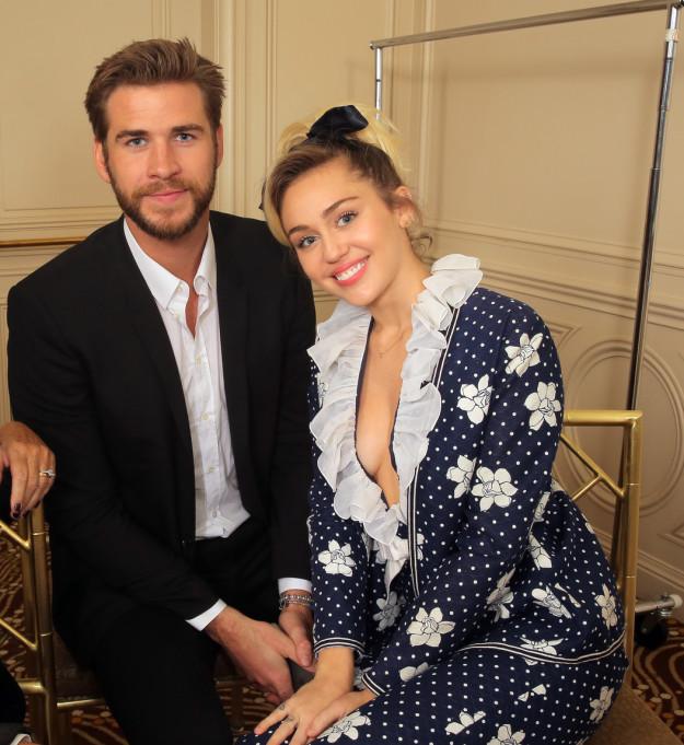 Miley Cyrus and husband, Chris Hemsworth