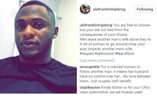 Men Leave Women Who Are Married Alone' – Ubi Franklin Cries