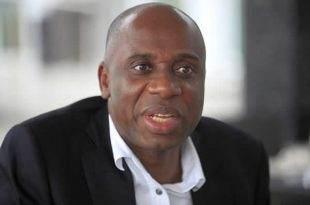 Image result for The Minister of Transportation, Rotimi Amaechi