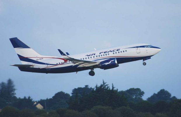 fly airpeace online flight ticket booking 620x400 - [Video]: Air Peace Chairman Weeps As He Welcomes First Batch Of Nigerians From South Africa
