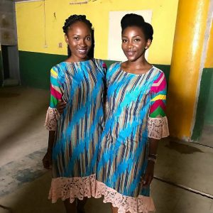 Upcoming actres Jemima Osunde and Genevieve Nnaji