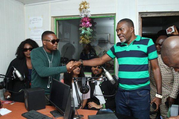 Photos: Olamide Meets With Kanayo O Kanayo  - Information Nigeria