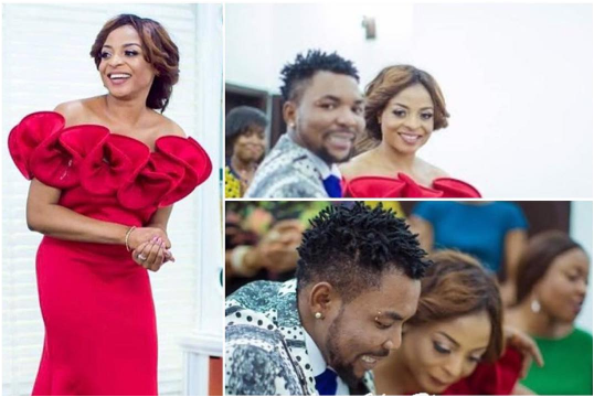 Oritsa Femi and wife