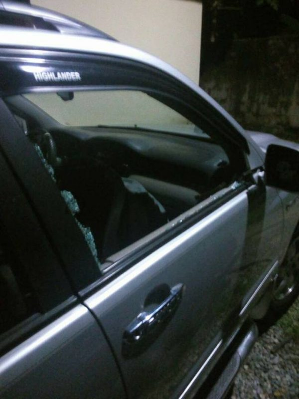 Omg! Wife of Ex UNICAL Bursar Luckily Escapes Assassination Attempt in Calabar | Photos