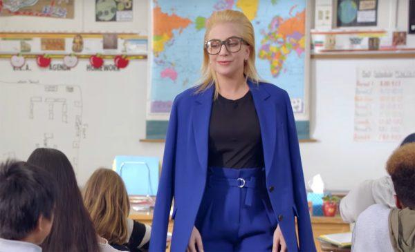 Lady Gaga Surprises Kids as Their Substitute Teacher! (Video)