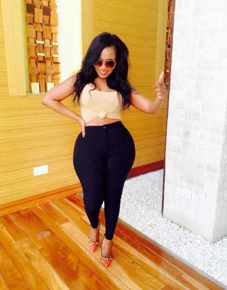 Top 15 Most Curvy Celebrities In Africa