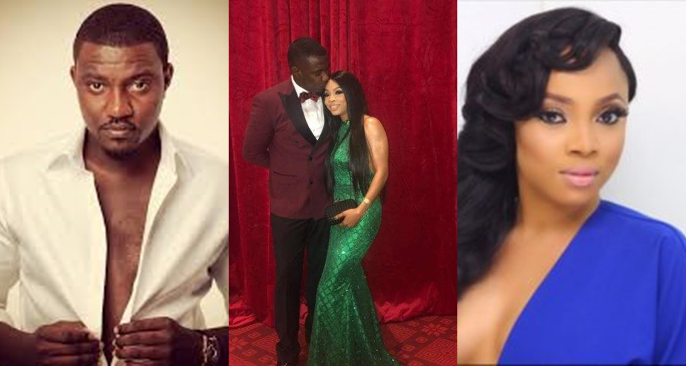 Actor John Dumelo And Toke Makinwa Are Sweetheart,See Lovely Pictures