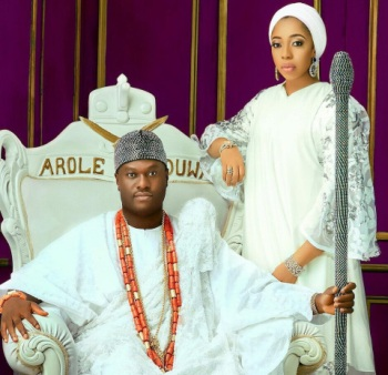 Ooni of Ife's former queen, Zaynab congratulates him on his marriage to new queen