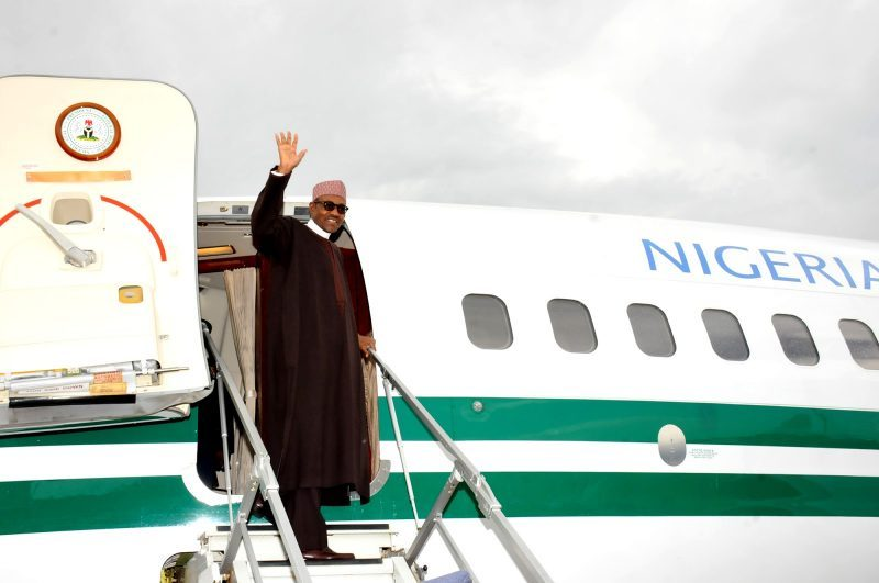 Buhari Departs Abuja For Japan Despite Nnamdi Kanu's Threat